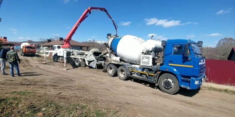 Бетон купить в красноярске с доставкой цена от 1 куба купить установка для бурения бетона